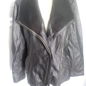 Apt 9 black jacket Sz XL